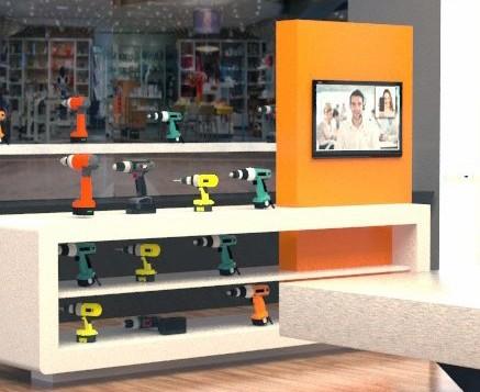 Shopkonzepte mit digitaler Unterstützung für den Handel