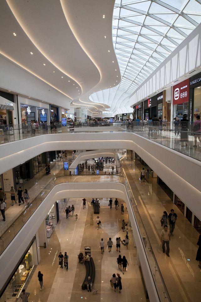Grosses Einkaufszentrum