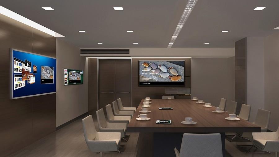 Ein Meetingraum im Büro von kumju