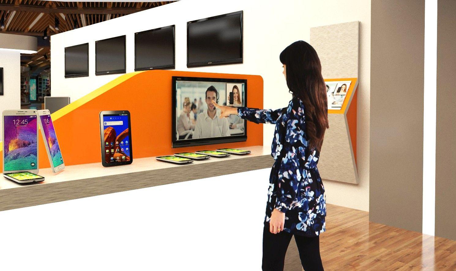 Digitales Shop in Shop Konzept für die Digitalisierung des Handels